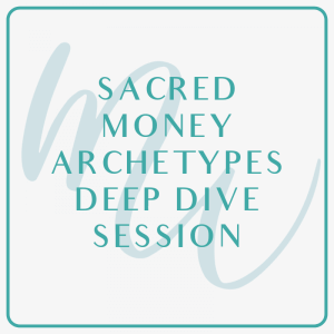 sacred money archetypes coaching